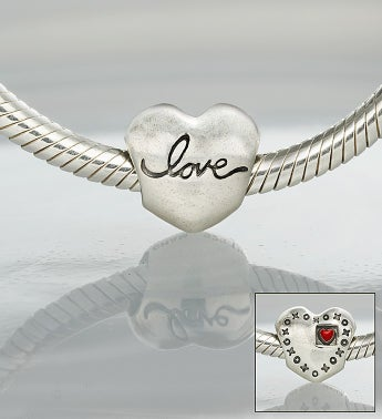 Chamilia� Bracelet with Love Charm