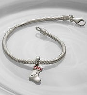Chamilia Bracelet with Stocking Charm