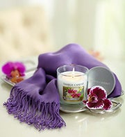 Orchid Yankee Candle® with Pashmina Scarf