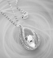 SWAROVSKI® Crystal Drop Pendant
