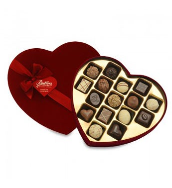 Butlers Large 225g Velvet Heart Box