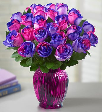 /Kaleidoscope Roses, Pink and Purple