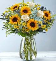 Premium Hand-Tied Artisan Garden Bouquet