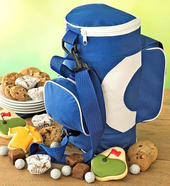 Cheryl's Fathers Day Golf Bag with Treats