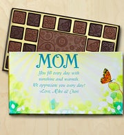 Mothers Day Personalized Chocolate Box