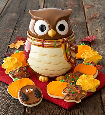 Cheryl's  Collector's Edition Owl Cookie Jar