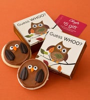 Cheryl's Fall Owl Cookie Card