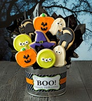 Cheryl's Halloween Cookie Flower Pot
