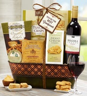 You're the Best Grandparents! Wine Gift Basket