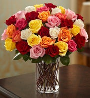 Assorted Roses, 36 Stems for $36