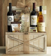 Exceptional Selections Rustic Wine Trunk