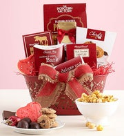 Divine Valentine Sweets Basket