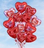 Air-Rangement� - Love & Romance Mylar Balloons