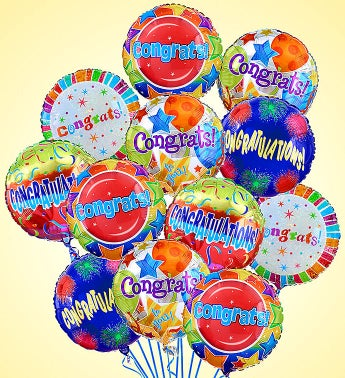 Air-Rangement� - Congratulations Mylar Balloons