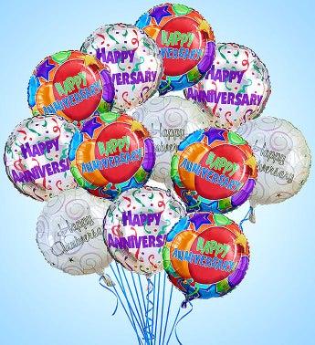 Air-Rangement� - Anniversary Mylar Balloons