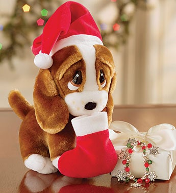 Christmas Sad Sam� with Charm Bracelet