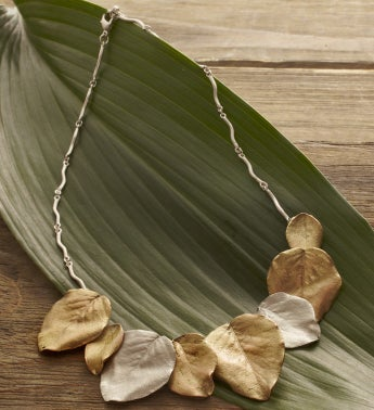 Survivor Tree Two Tone Necklace