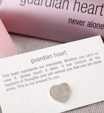 Guardian Heart Pin