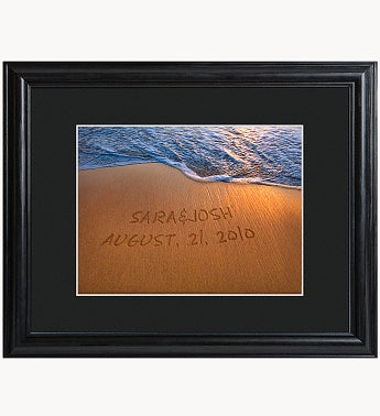 Personalized Sparkling Sands Print