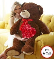Henry Giant Bear with FREE CHOCOLATE