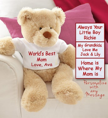 Personalized Bear for Mom