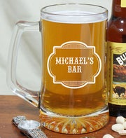 Personalized Bar Beer Mug
