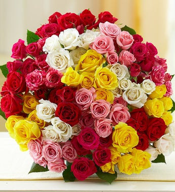 1-800-Flowers.com - 40% off 100 Blooms of Spray Roses - $29.99