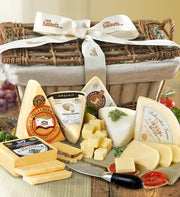 American Cheese Gift Basket - 1800baskets.com