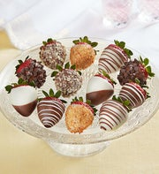 Fannie May Chocolate Covered Stemmed Strawberries