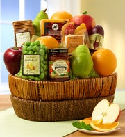 Farmstand Finest Fruit Gift Basket
