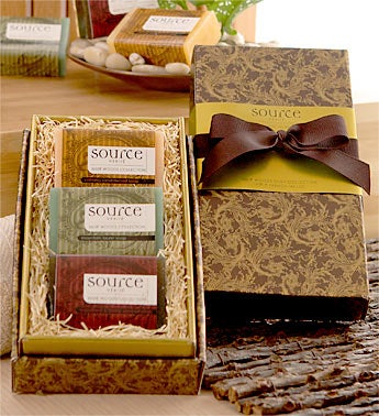 Muir Woods Scented Soaps for Him 1800Baskets.com