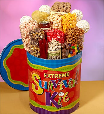 The Popcorn Factory Extreme Survival Kit