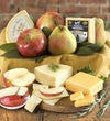 Fresh Fruit & Cheese Gourmet Gift Basket