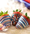 Fannie May Stars & Stripes Strawberries