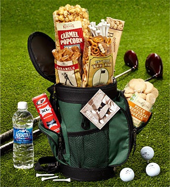 Cool Golf Bag Cooler with Snacks
