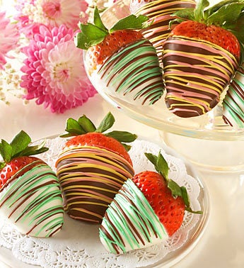 Sweet Chocolate Covered Strawberries