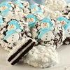 Snowflake Belgian Chocolate Covered Oreo® Cookies