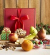 Holiday Fruit and Sweets Gift Box