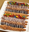 Candy Bar Pretzels - 1800Baskets.com