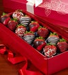 Happy Valentine?s Day Strawberry Rose Box
