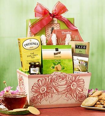 Tea Lover 39 S Garden Gift Basket