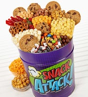 The Popcorn Factory� Snack Attack Deluxe Tin