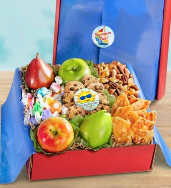Summer Fun Fresh Fruit & Snacks Gift Box