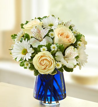 Magical Moonlight Flower Arrangement