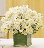 All White Arrangement