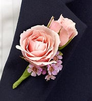 Pink Ring Bearer Boutonni�re