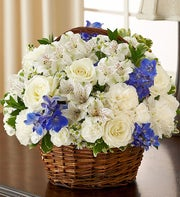 Sympathy Basket Arrangements