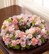 Cremation Wreath - Multicolor Pastel