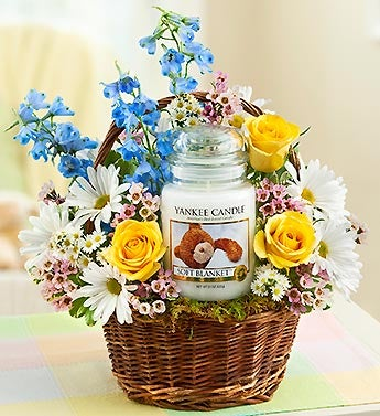 Yankee Candle� Soft Blanket? Basket