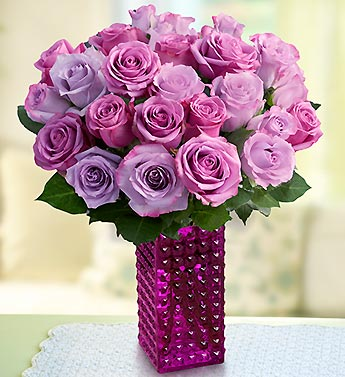 Passion for Purple Roses, 12 ? 24 Stems
